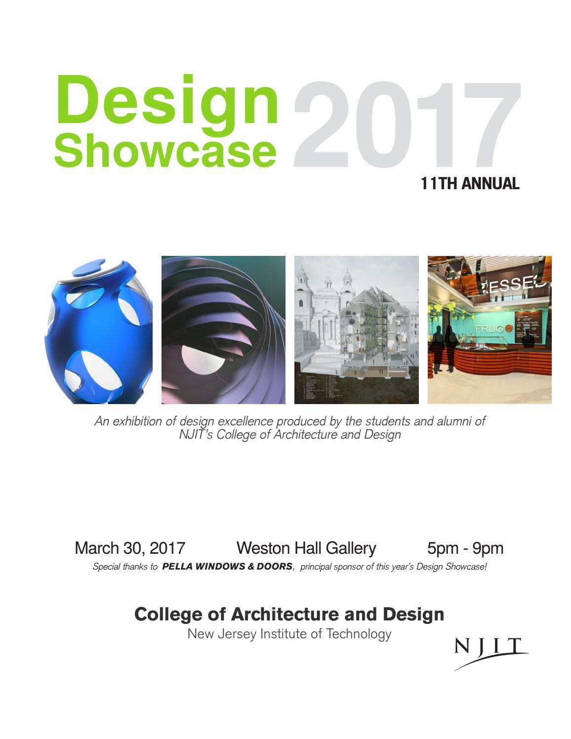 ce6a2c0677c 2017 Design Showcase by NJIT - issuu
