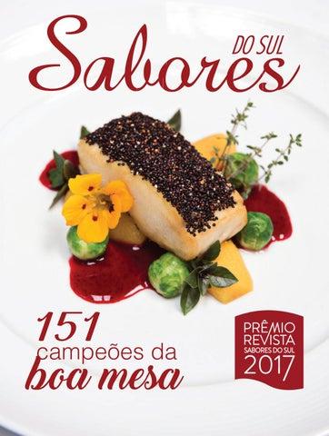 8a664a6bb Revista Sabores do Sul Edição Prêmio 2017 by Revista Sabores do Sul ...