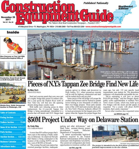 Northeast 24 November 29 2017 By Construction Equipment Guide Issuu