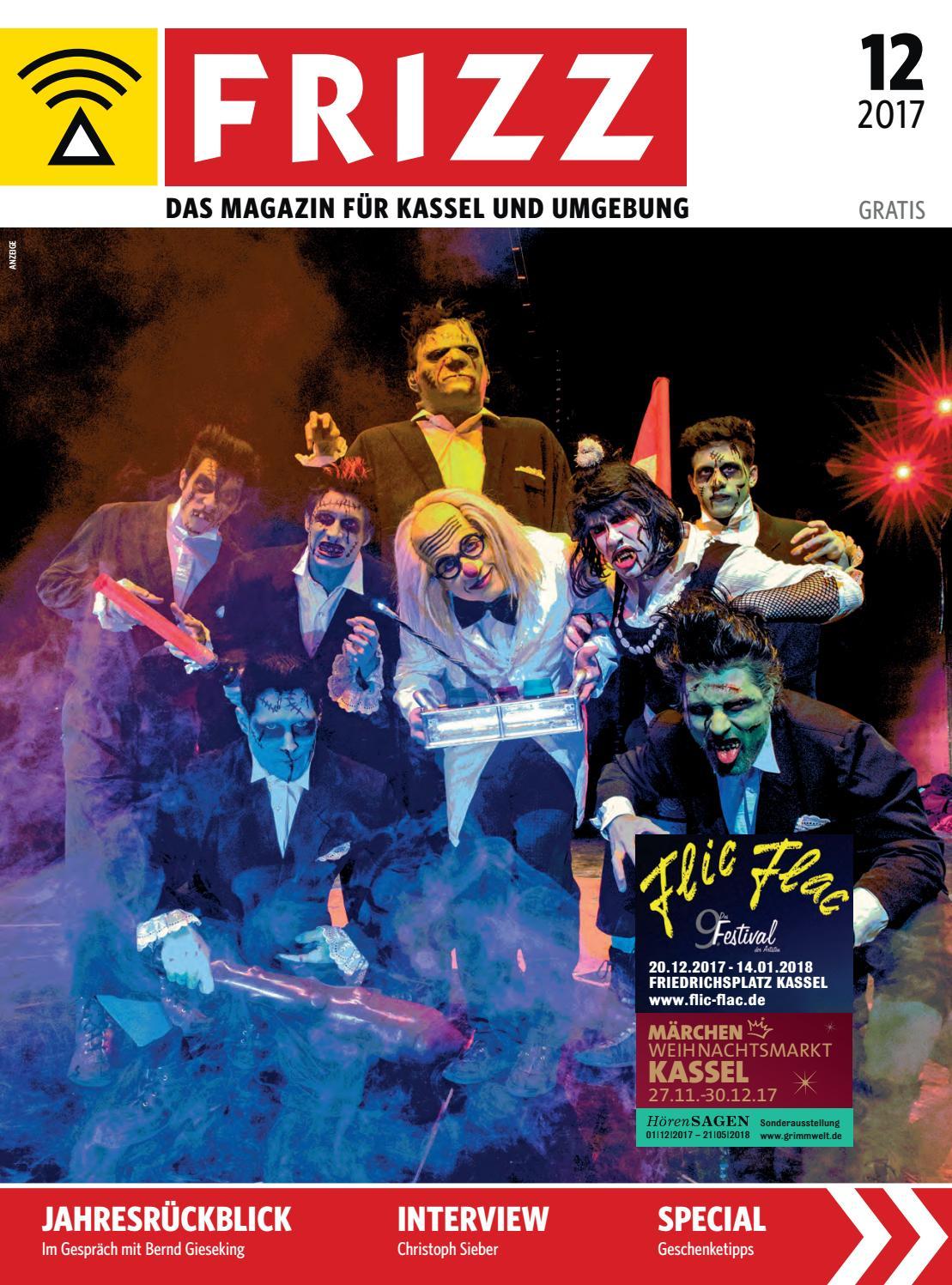 FRIZZ Das Magazin Kassel Dezember 2017 by frizz kassel - issuu