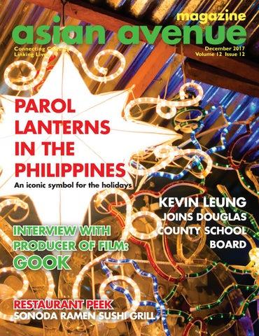 Asian Avenue magazine - December 2017 by Asian Avenue