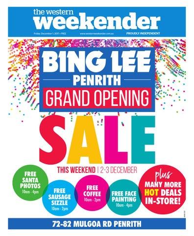 b680e2864a06 Weekender December 1 by Western Sydney Publishing Group - issuu