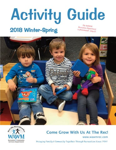 d2eaab362 Winter-Spring 2018 Activity Guide by West Allis-West Milwaukee ...