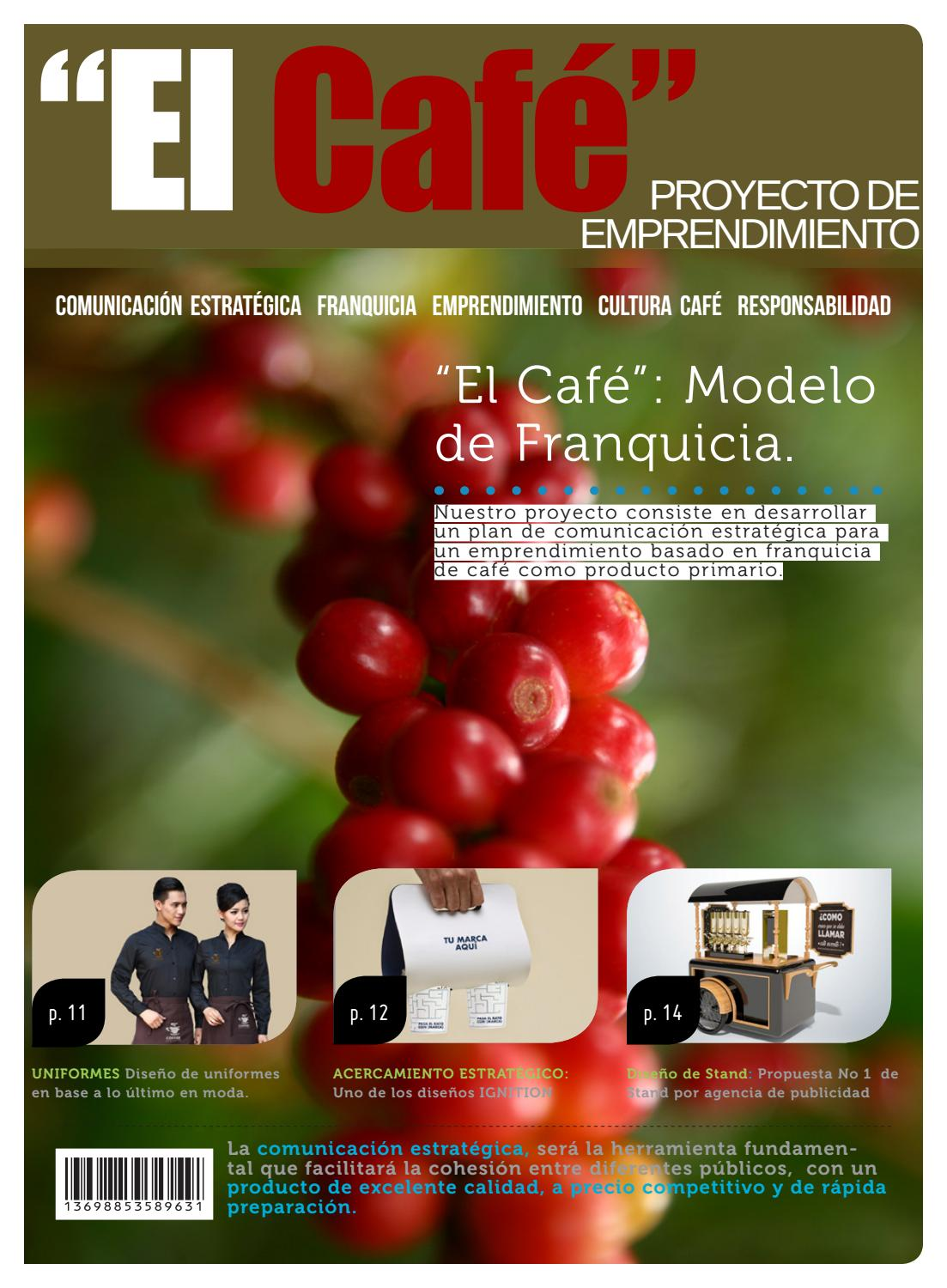 Proyecto Café Franquicia By Andresmoremen Issuu