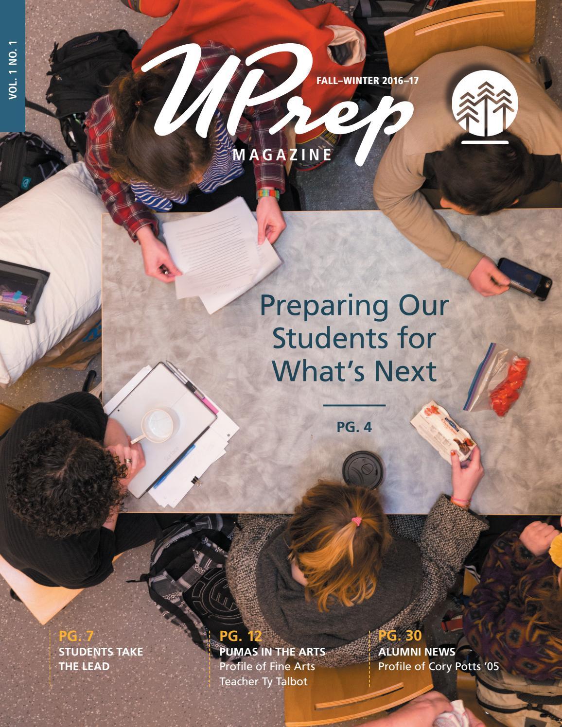 UPrep Magazine Vol 1 No By