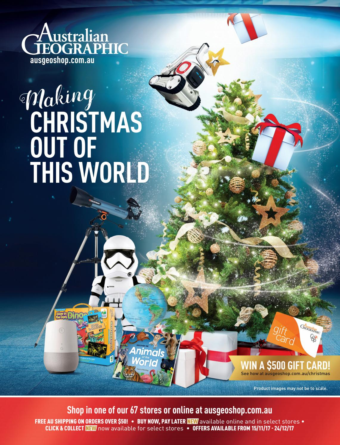 Australian Geographic Christmas 2017 Catalogue by Australian ...
