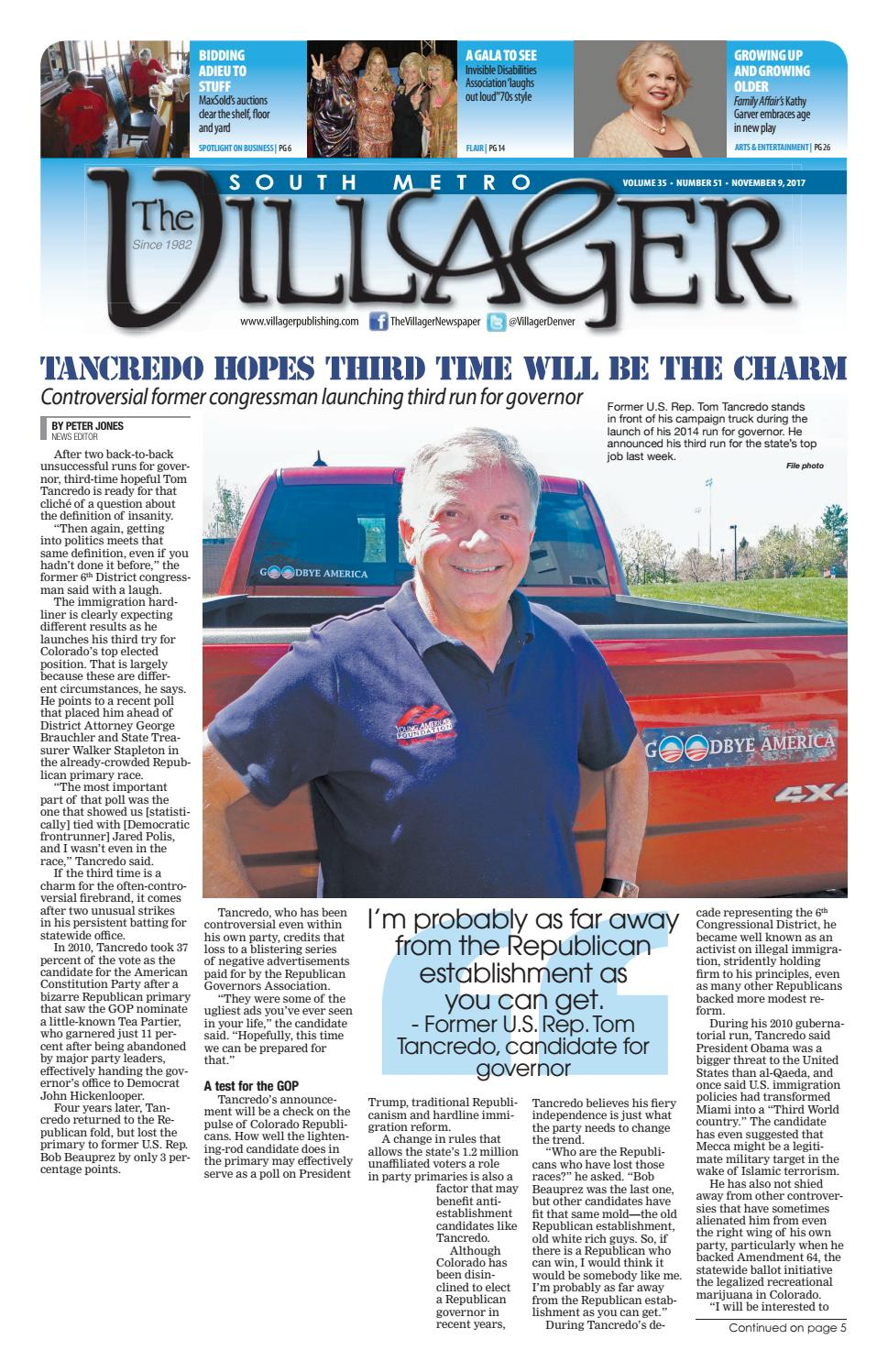 f1e9d1a48e2ce 11-9-17 Villager E edition by Patrick Sweeney - issuu