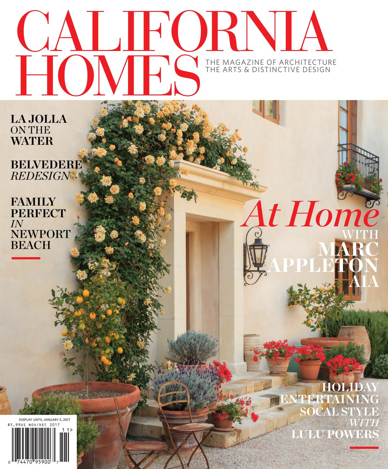 California homes november december 2017 by california homes magazine issuu