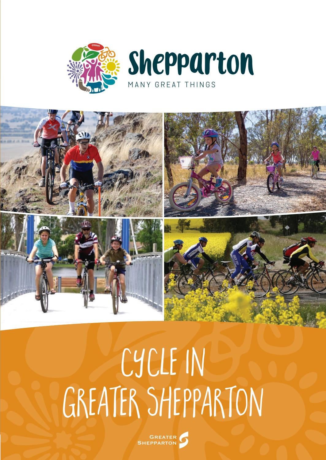 Kinder Garden: Greater Shepparton Cycling Guide By Greater Shepparton