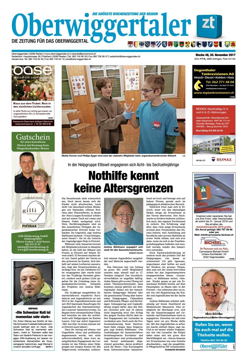 Mai 2018 | Bremgarter Bezirksanzeiger