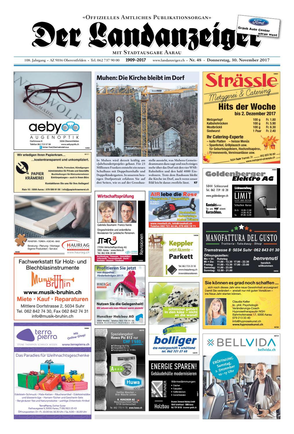 Der Landanzeiger 4817 By Zt Medien Ag Issuu