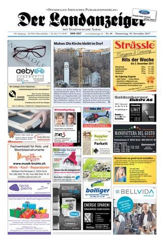 Der Landanzeiger 48/17 by ZT Medien AG - issuu