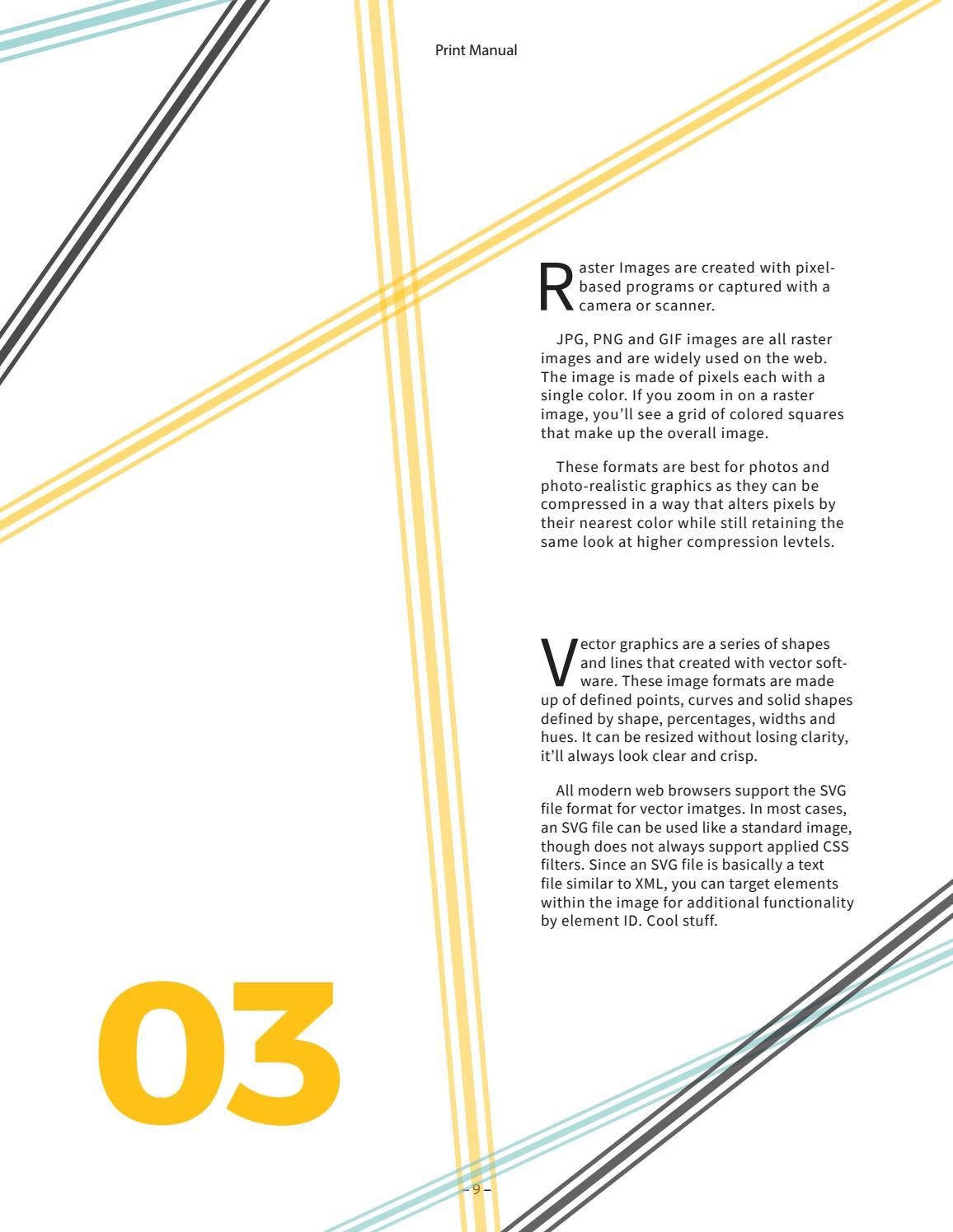 Print Manual 2017 By Qing Y Issuu