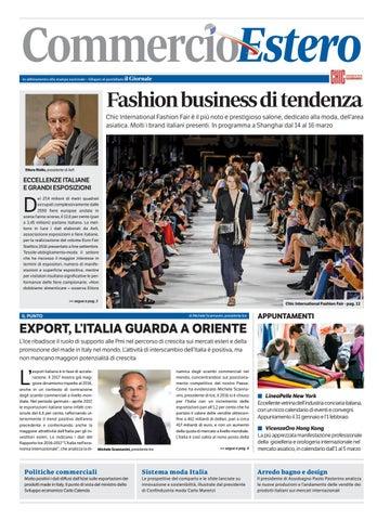 Commercio Estero - Nov 17 by Golfarelli Editore International Group ... cd431ab063c3