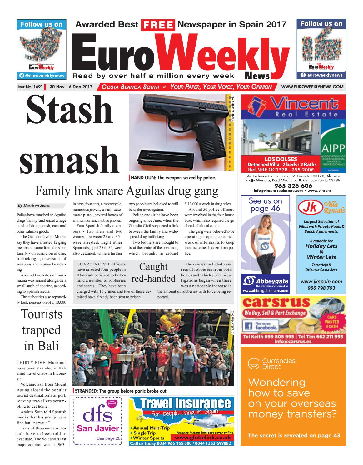 Euro weekly news costa blanca south 30 november 6 december 2017 euro weekly news costa blanca south 30 november 6 december 2017 issue 1691 by euro weekly news media sa issuu fandeluxe Choice Image