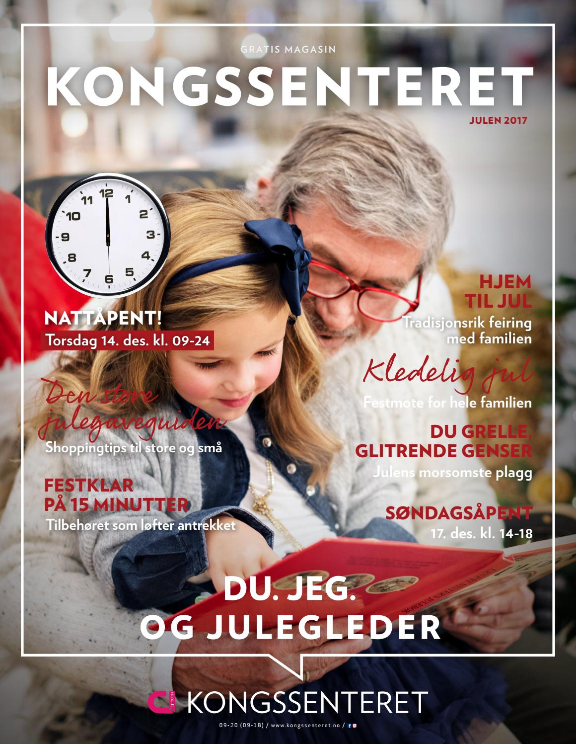 ca59ec5c Kongssenteret Julemagasin 2017 by Centerteam - issuu