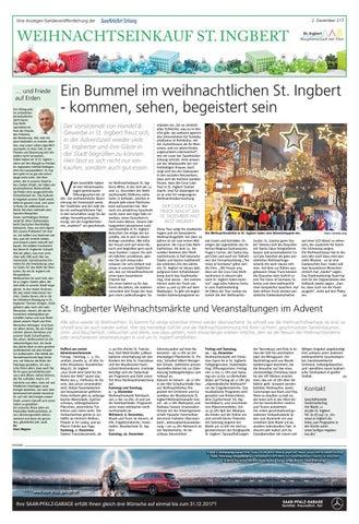Weihnachtseinkauf St Ingbert By Saarbrücker Verlagsservice Gmbh Issuu