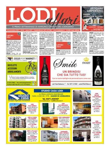 Lodi Affari 30 Novembre by Lodi Affari - issuu ce4e5a65300