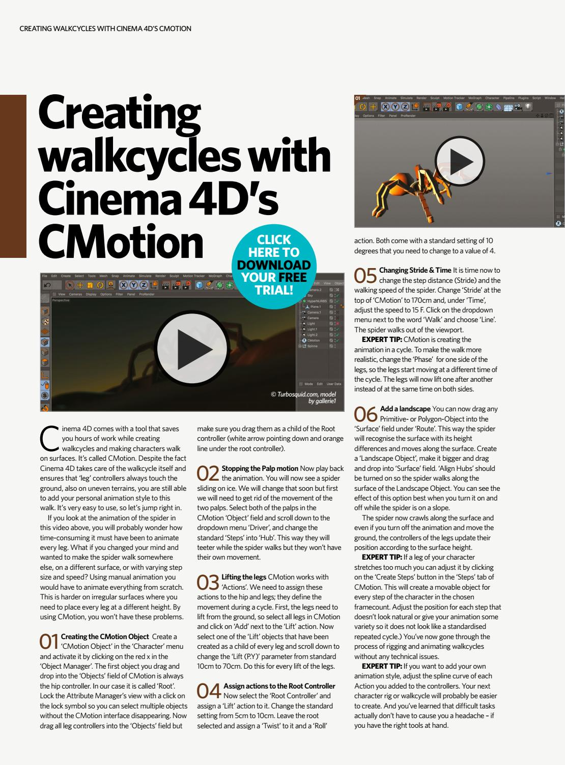 Maxon Presents: Cinema 4D Techniques by Future PLC - issuu