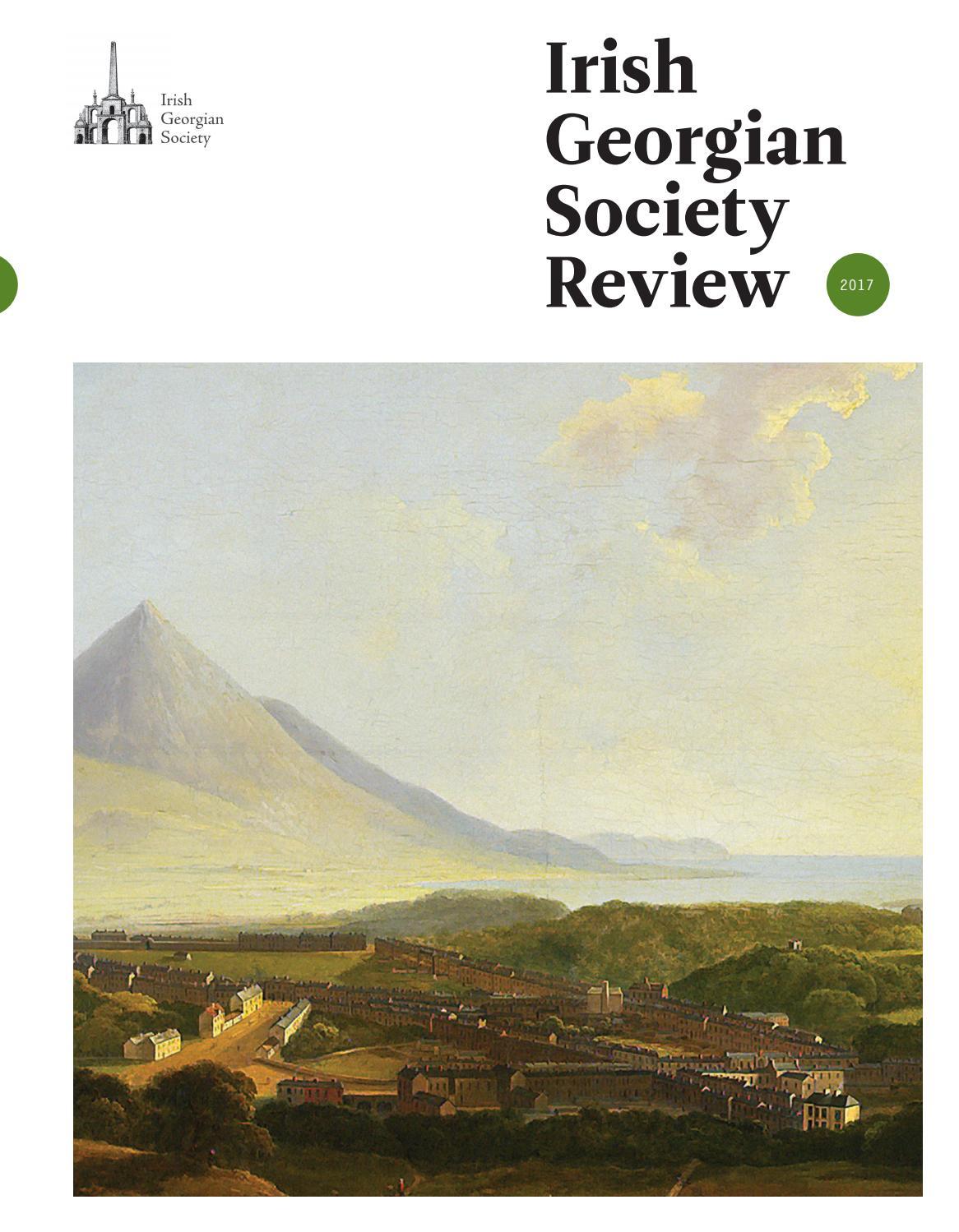 Irish Georgian Society Review - 2017