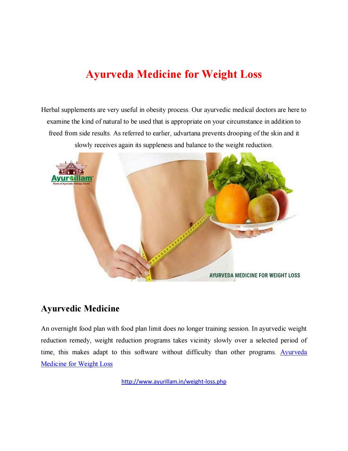 Ayurveda medicine for weight loss by rathnamadhuri66 - issuu