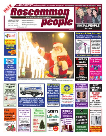 2017 12 01 by Roscommon People - issuu