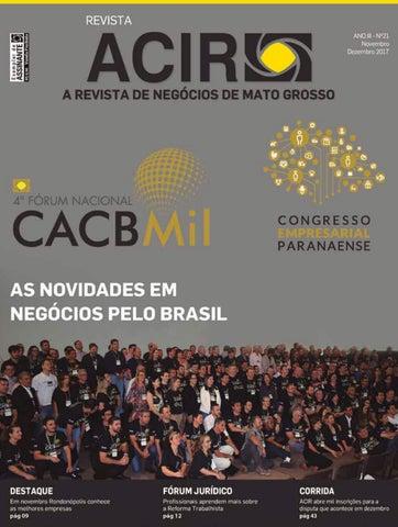 6dbf807e84b Revista ACIR - Ed. Novembro Dezembro 2017 by Rafael Vicentini - issuu