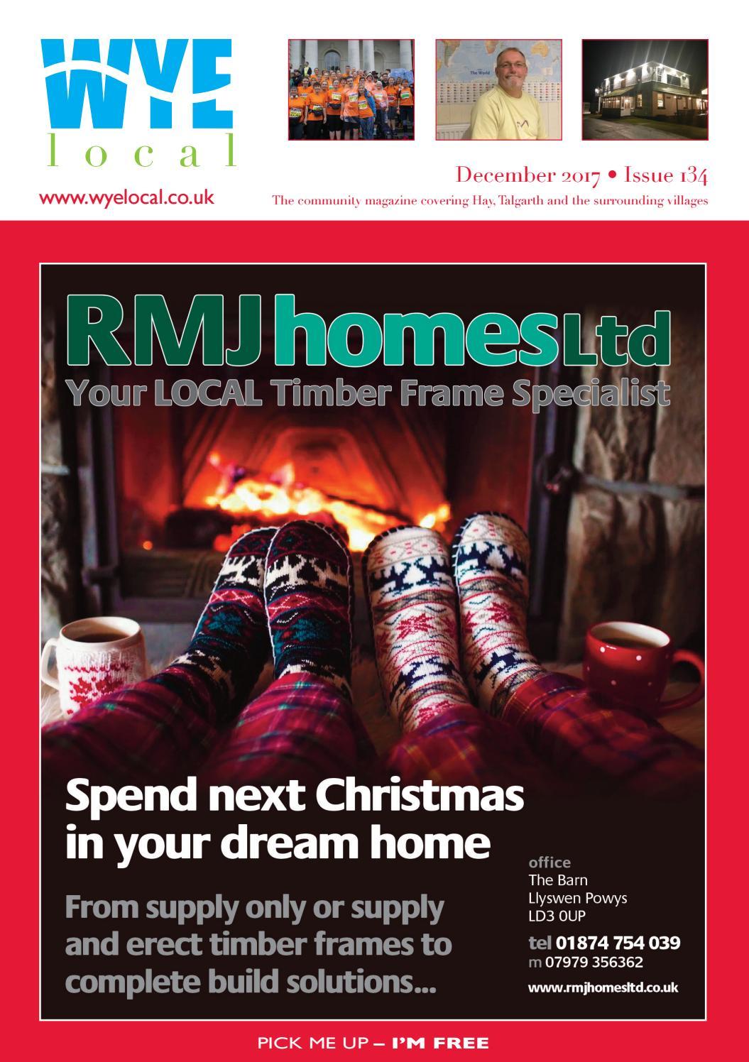 Wye Local Issue 134 December 2017 By Cariads Local Ltd Issuu