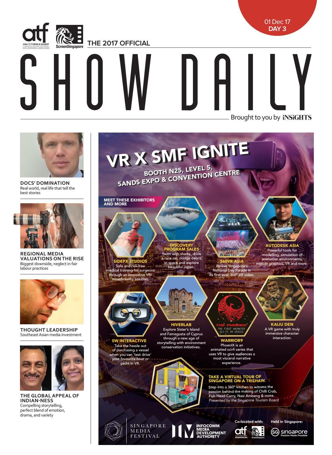 ATF_SS Show Daily Day 3 by Asia TV Forum & Market (ATF) - issuu