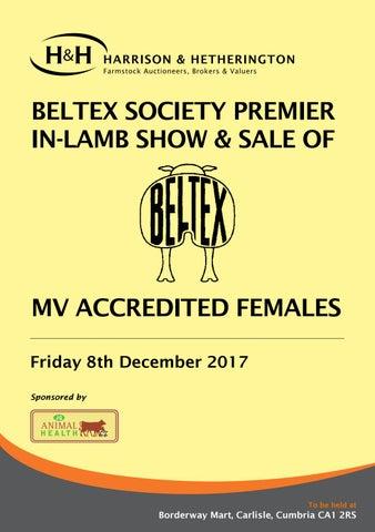 Beltex In Lamb 081217 By Harrison Hetherington Issuu