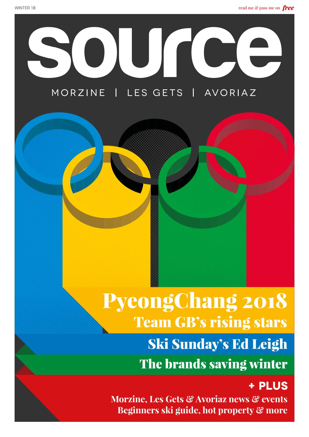 Morzine Source Magazine Issue 10 Winter 1718 By Origami