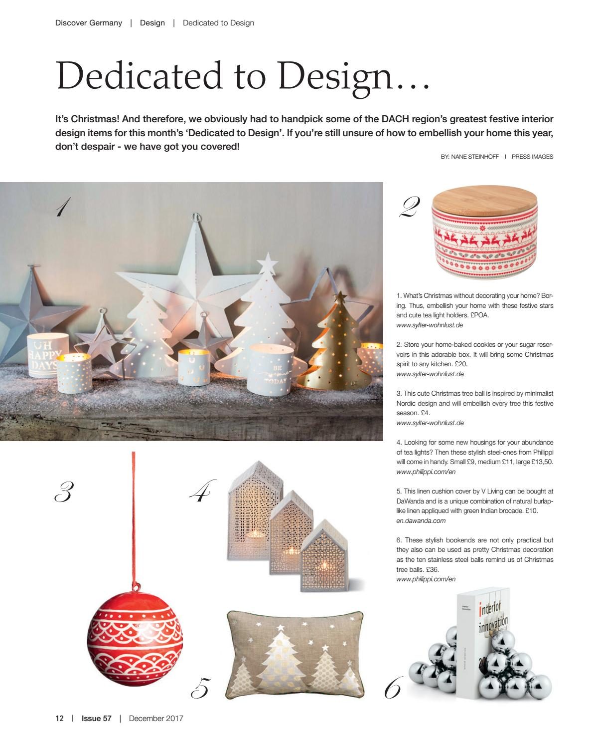 Discover Germany, Issue 57, December 2017 by Scan Group - issuu