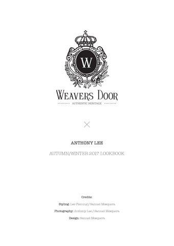 Page 1  sc 1 st  Issuu & Weavers Door Autumn/Winter 2017 Lookbook by weaversdoor - issuu