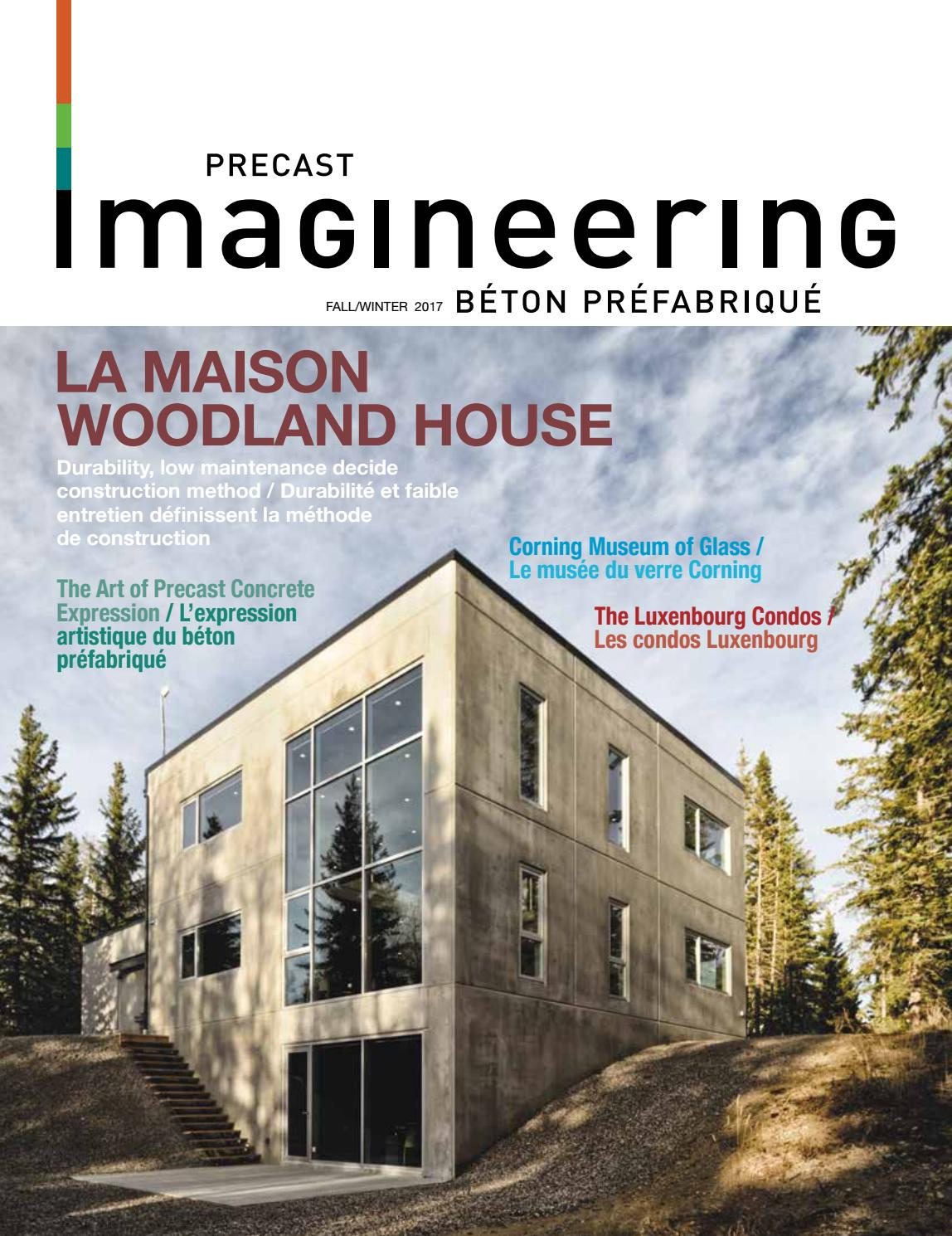 Maison Prefabrique En Beton imagineeringfall2017issuusab magazine - issuu