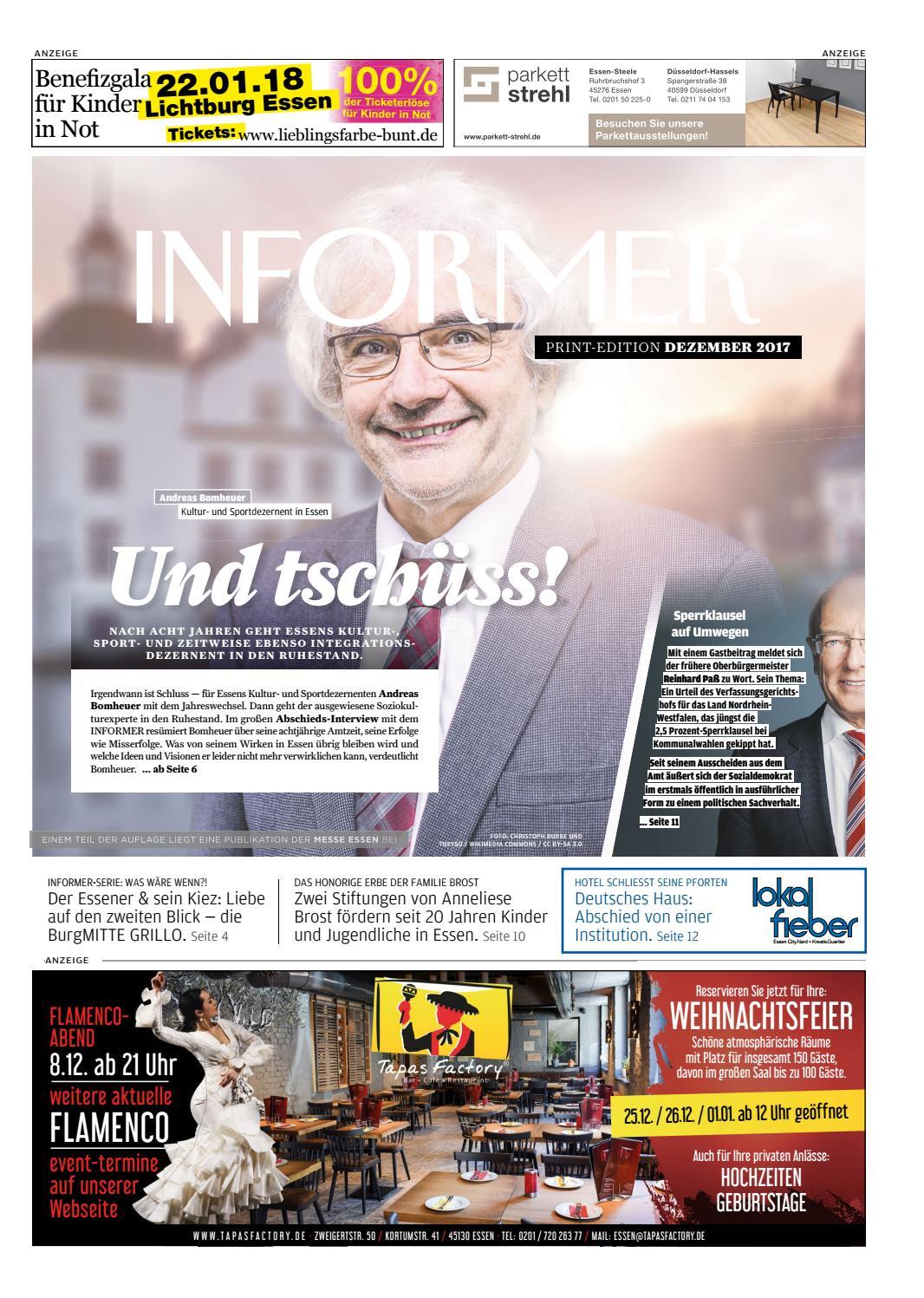 INFORMER DEZ 2017 by Presse-Verlag Ruhr GmbH - issuu