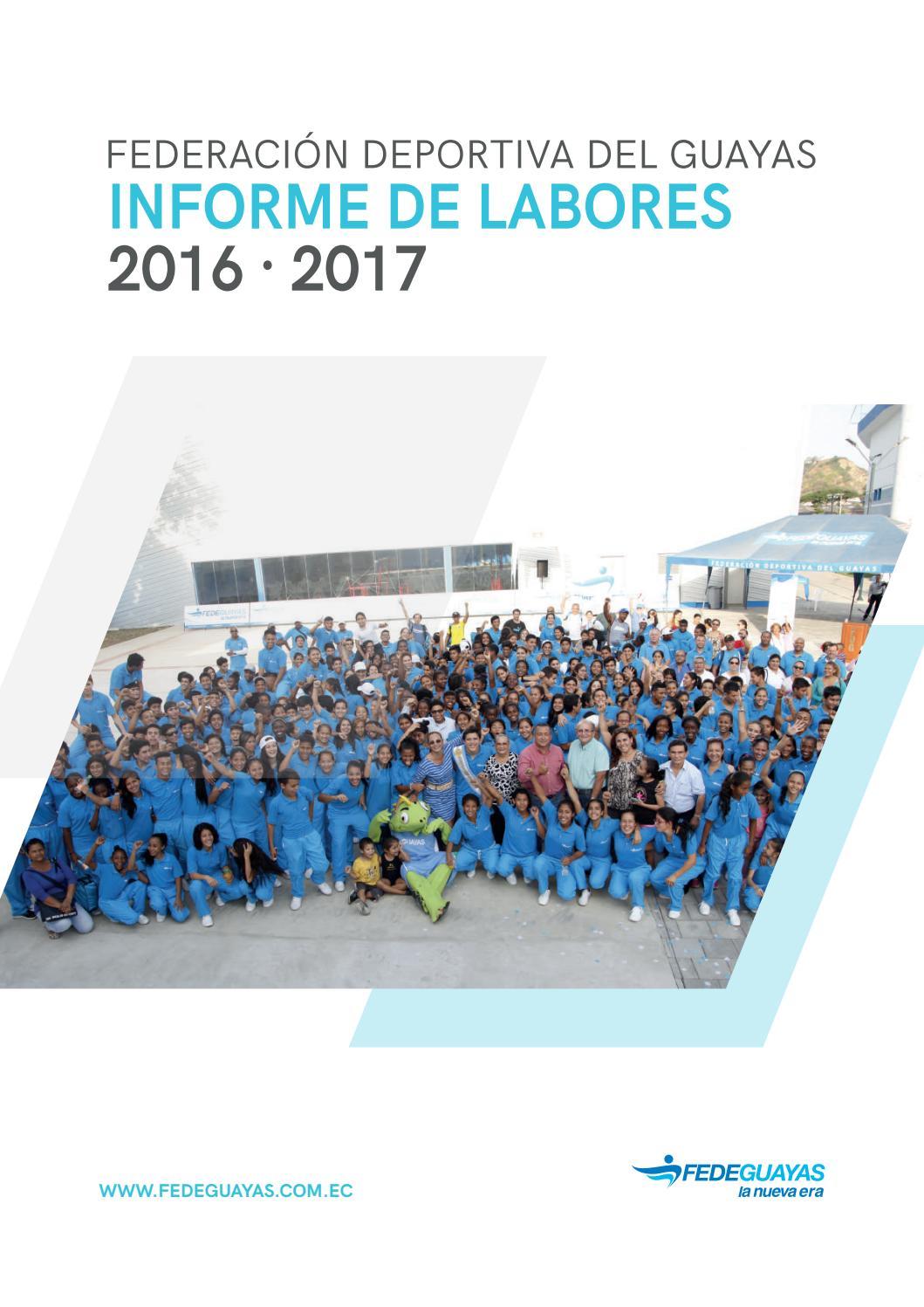 Informe de Labores 2016 · 2017 by Fedeguayas - issuu