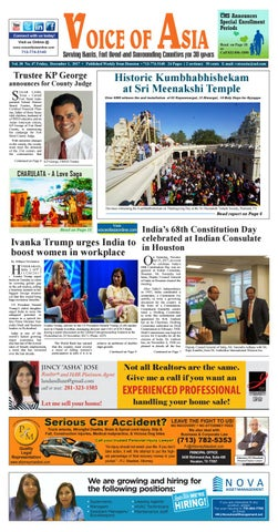 Voice Of Asia E Paper Dec 1 2017 By Voiceof Asia Issuu