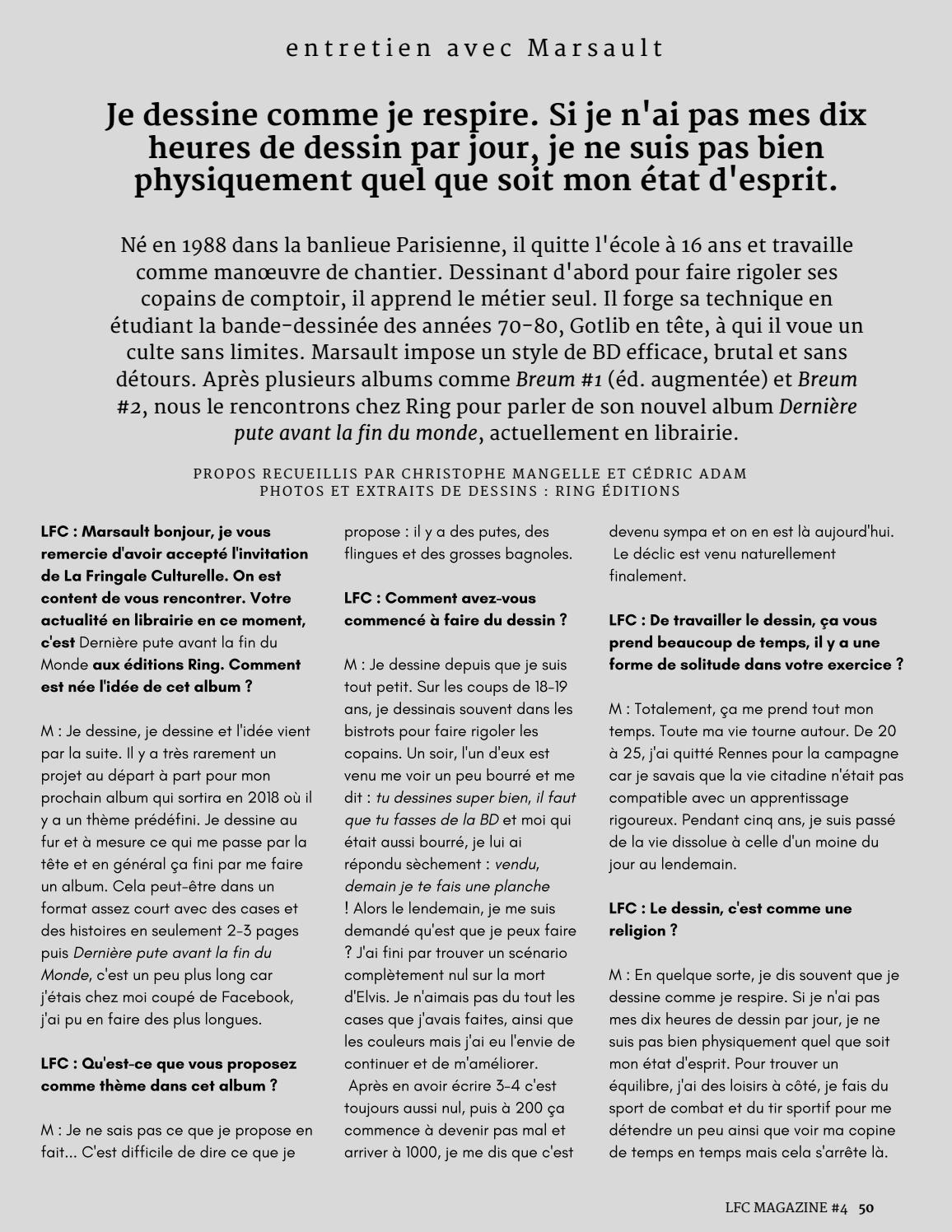 Lfc Magazine 4 Christophe Willem Novembre 2017 By La