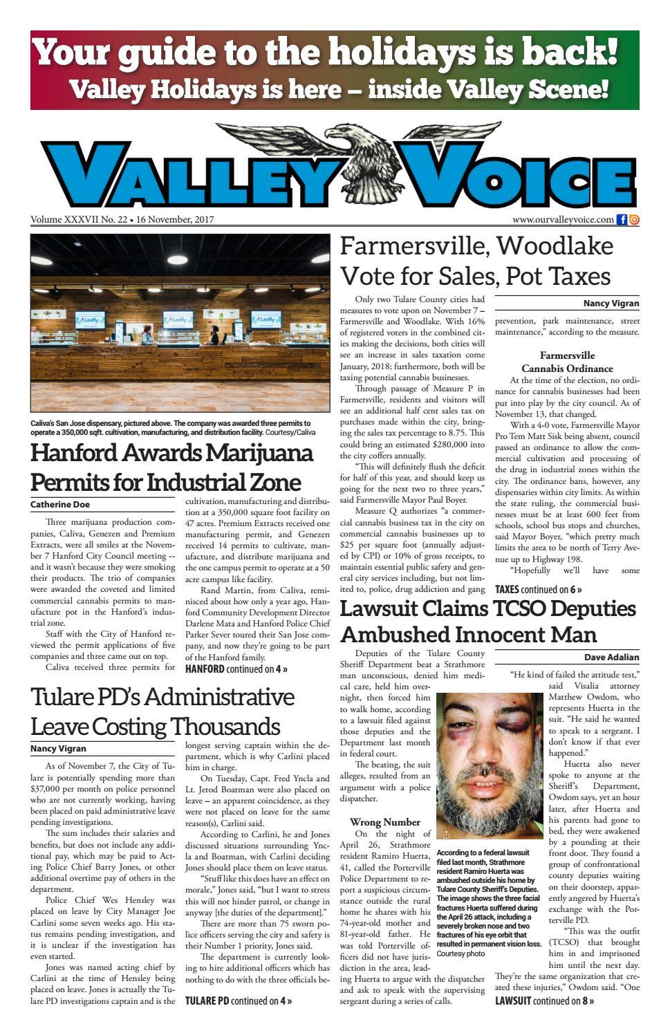 Valley Voice Issue 105 (16 November 1051d1cda