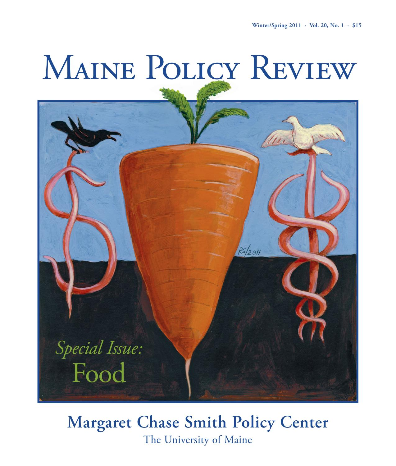 Maine Policy Review Winter/Spring 2011 by University of