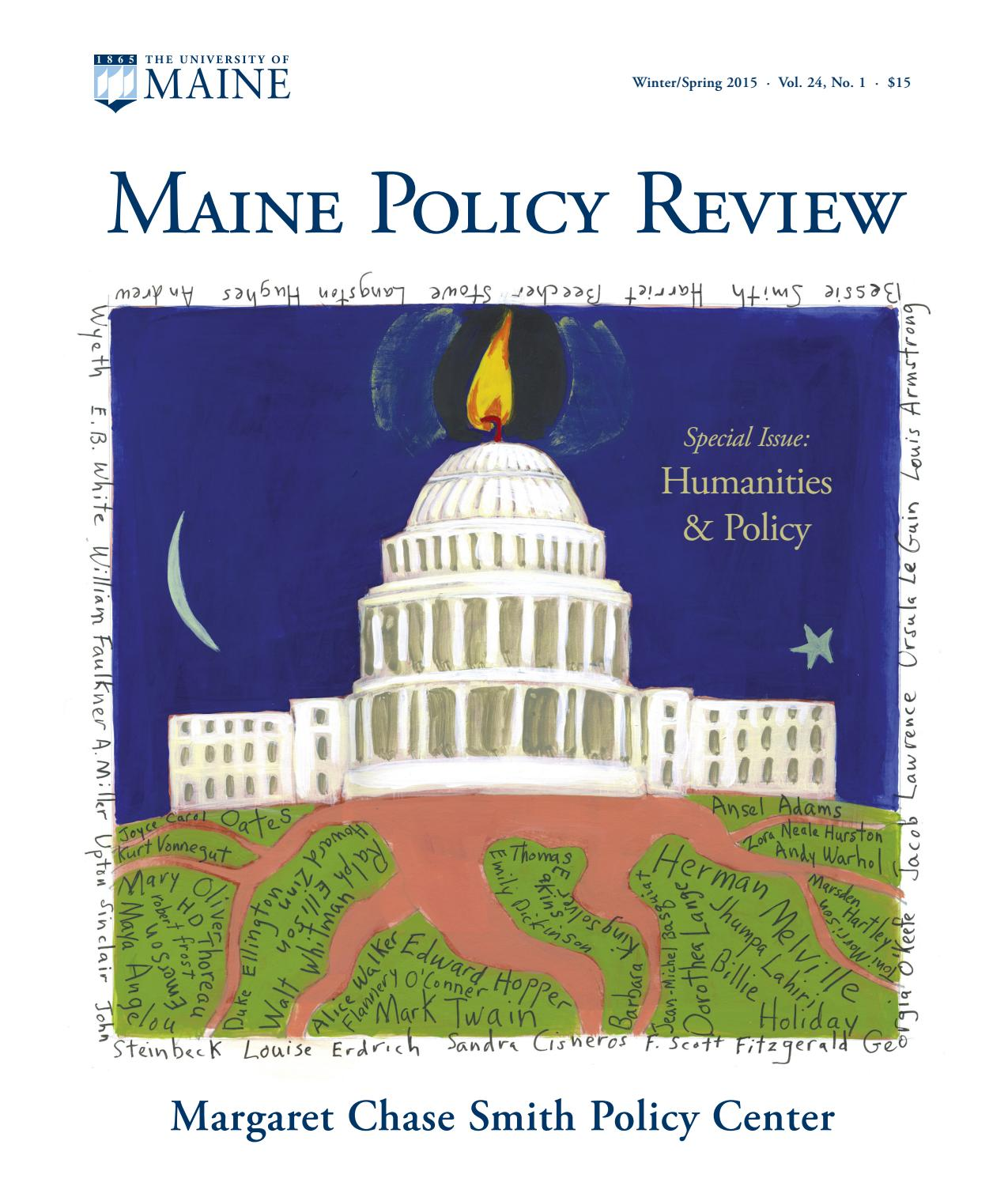 Maine Policy Review Winter/Spring 2015 by University of