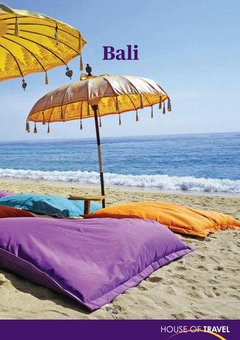 Carte Bali Serangan.Bali Brochure 2018 By House Of Travel Issuu