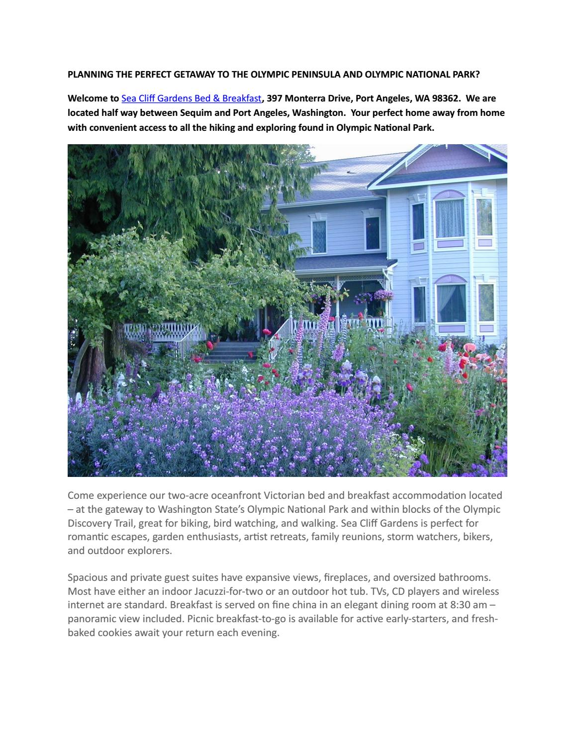 Things To Do 1 5 Days Olympic Peninsula Issuu Pub By