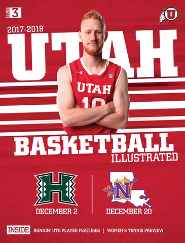 Utah Basketball 2017-18 by Mills Publishing Sports - issuu 28a10d666