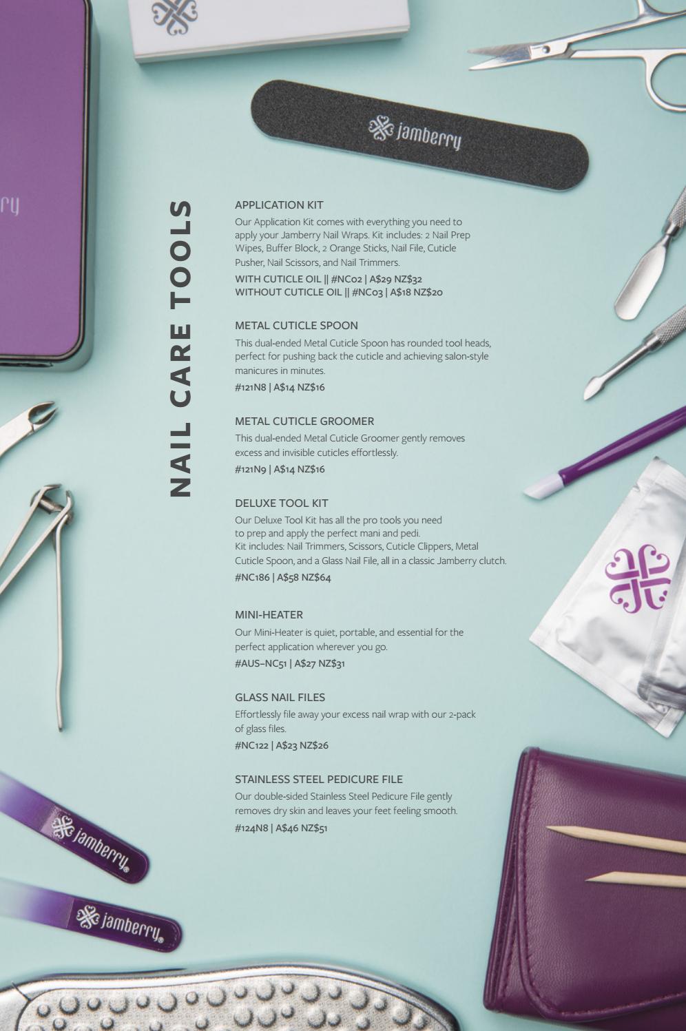 Jamberry Australia & New Zealand—September 2017 Catalog by