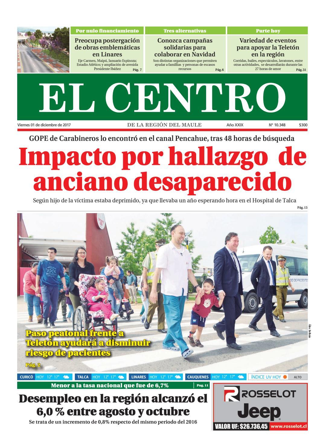 Diario 01-12-2017 by Diario El Centro S.A - issuu ba35287732