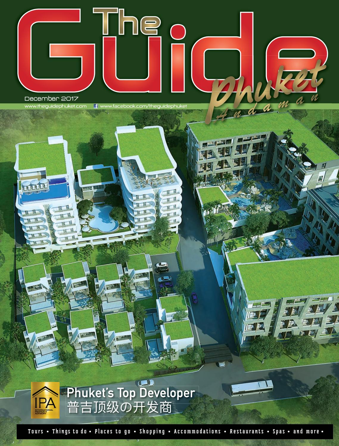 The Guide Phuket December 2017 by Pond Guinault - issuu