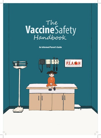 Before I Stopped Believing Vaccines >> The Vaccine Safety Handbook A4 By P E A C H Issuu