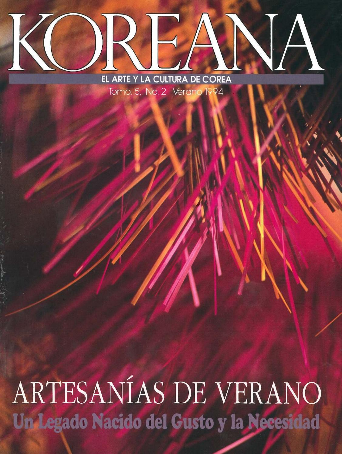 Koreana Summer 1994 (Spanish) by The Korea Foundation - issuu