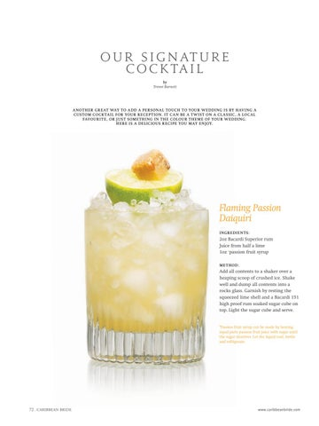 Page 74 of Our Signature Cocktail